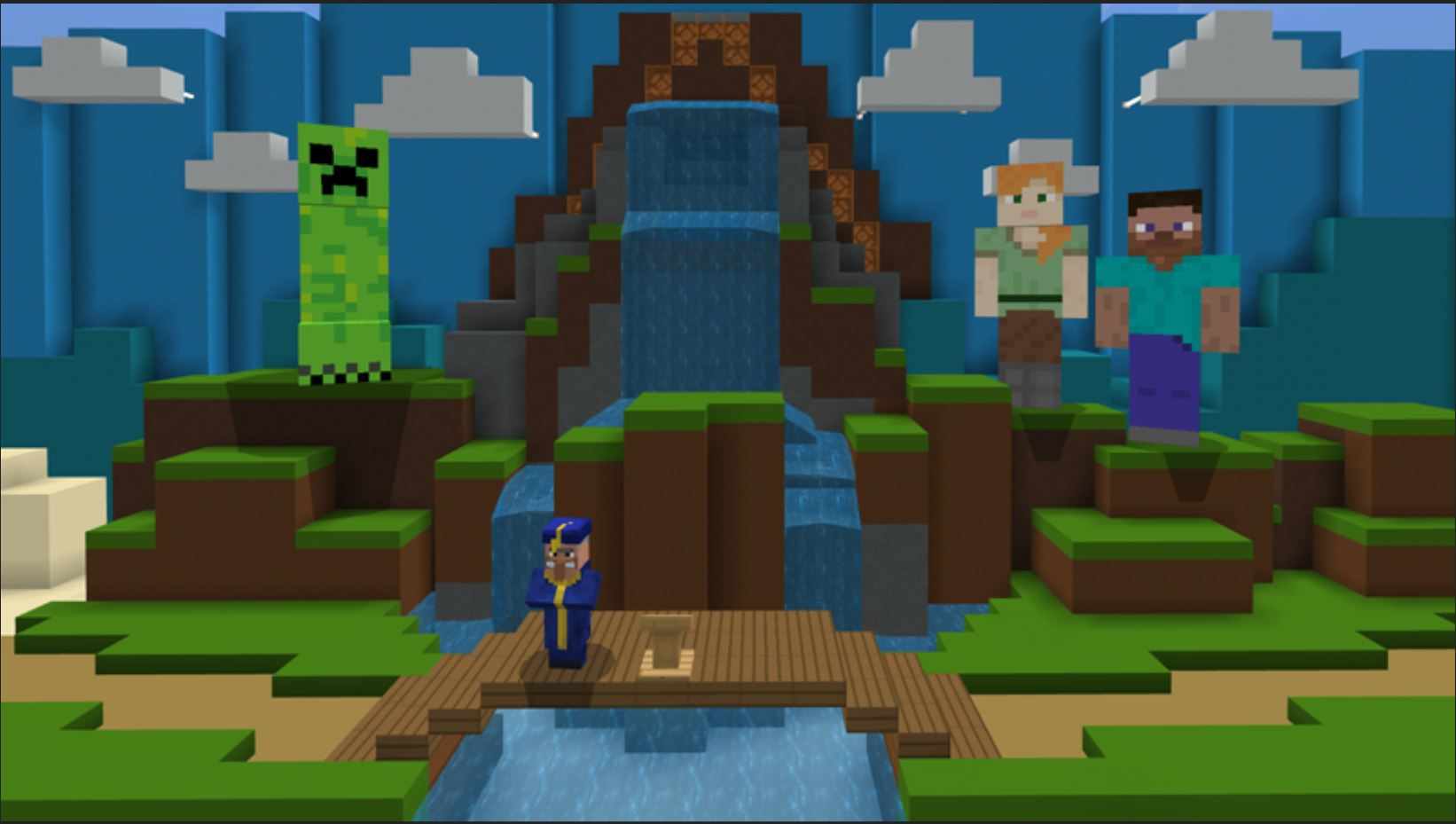 The Graduation Celebration Minecraft Marketplace Item Allows Students To Walk Across The Stage In Minecraft