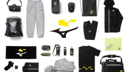 Athletic Brand Mizuno Announces Collaboration With Pokémon For Clothing And Accessories