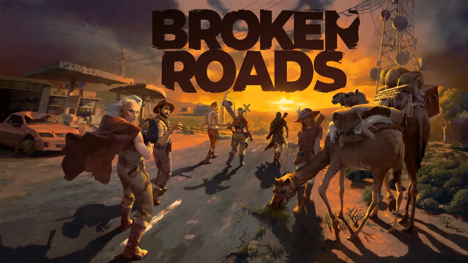 Broken Roads Is An Apocalyptic Narrative-Driven RPG Set In The Future Wastelands Of Australia
