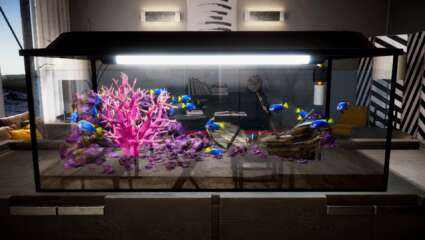 Aquascaping Lets Players Create An Aquarium Of Their Dreams In April 2021