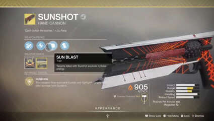 Destiny 2: Xur Returns Yet Again With A Host Of Exotic Weapons and Armor - Sunshot Handcannon Available 8/28