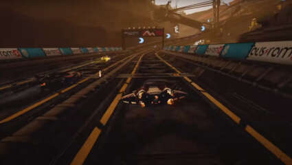 The Anti-Gravity Racing Game Pacer Is Out Now