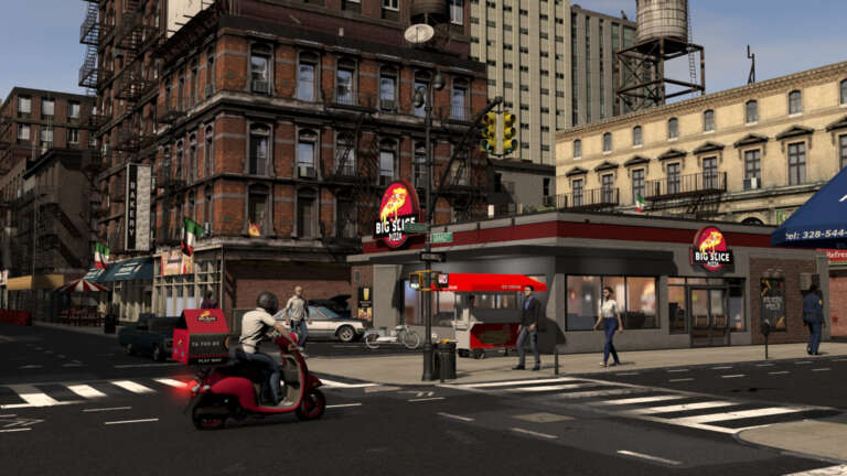 Manage A Pizza Shop In The Middle OF A Busy City In Pizza Simulator, Try And Create A Pizza Empire