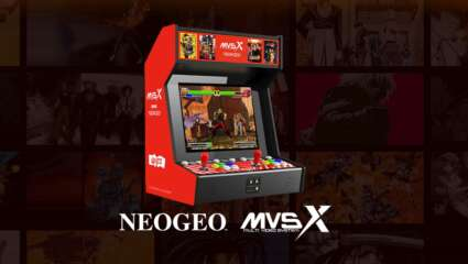 SNK NEOGEO MVSX Home Arcade Preorder Date Announced For September