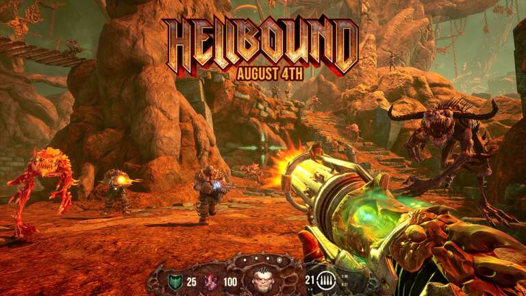 Saibot Studios' 90s Style FPS Game Hellbound Launches Tomorrow On August 4th