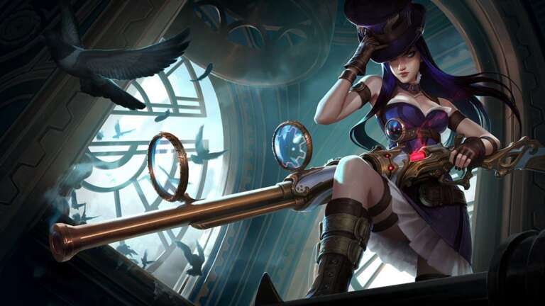 One Of Best Caitlyn Runes, Masteries, Early And Core Items For Current League Of Legend Season Ten