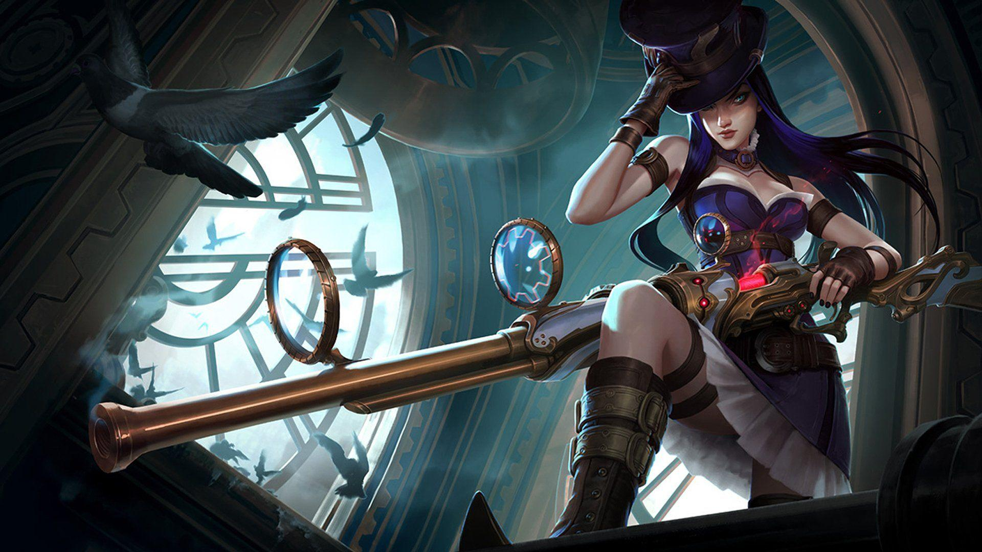 Caitlyn Has A 53 Percent Win-Rate Following Recent Buffs, Highest In ADC Position In Current Patch