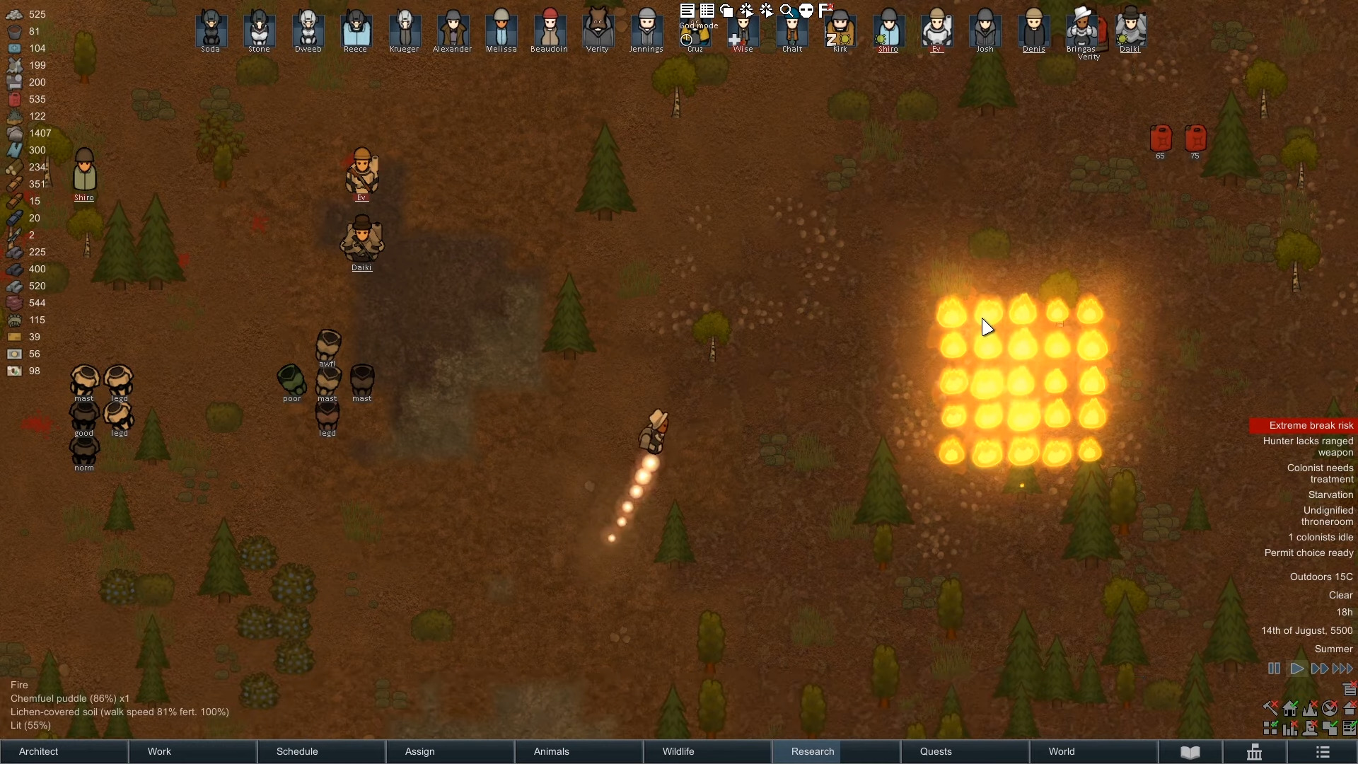 Rimworld Releases Patch 1.2 Bringing A Custom Playstyles Mode That Allows You To Tweak Your Punishment