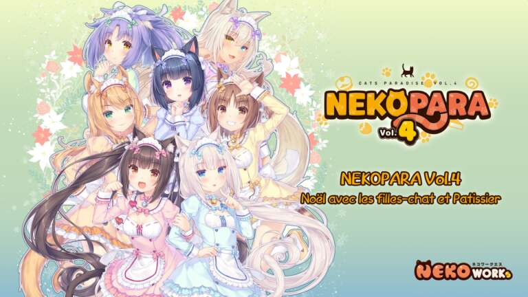 Visual Novel Featuring Catgirls Nekopara Volume 4 Announced For November