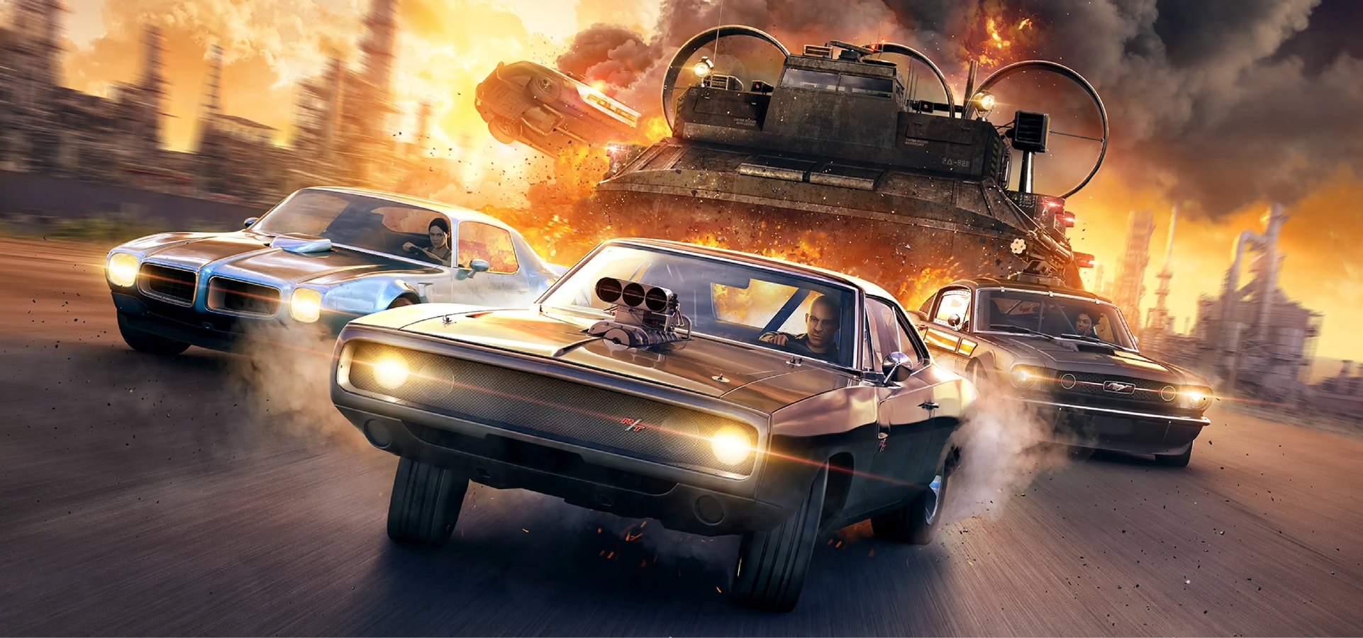 "Fast and Furious Crossroads Available Now With ""Launch Pack"" Bonus Content For A Limited Time"