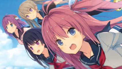 Aokana - Four Rhythms Across The Blue, An Adult Visual Novel Game, Is Released Worldwide This Week On PS4 And Switch
