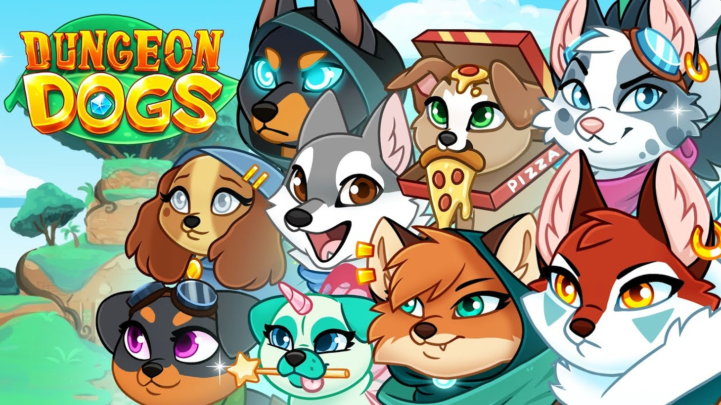 Mobile Idle RPG Game Dungeon Dogs Launches On August 19