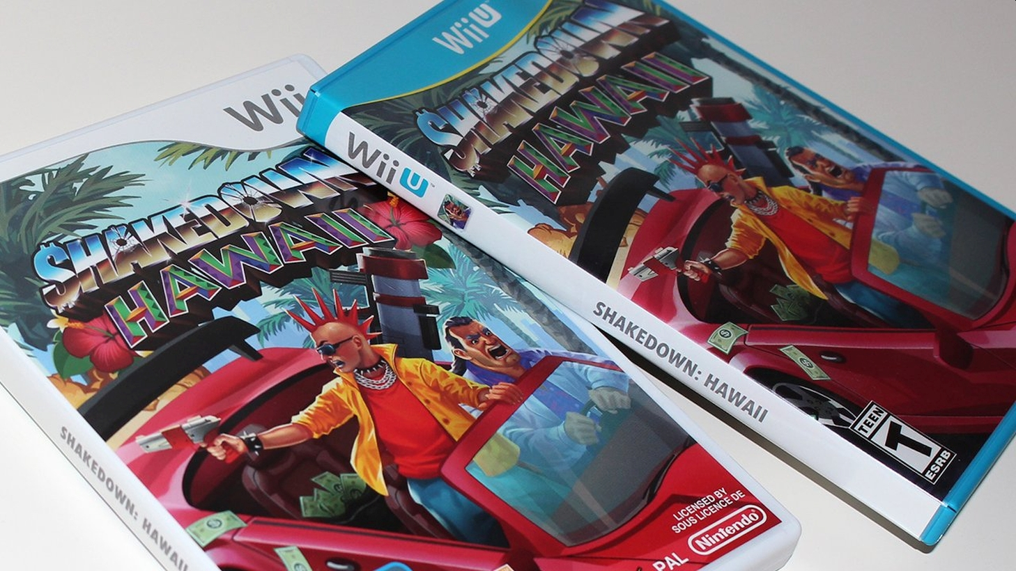 VBlank Releases WiiU Digital And Physical Edition For Shakedown Hawaii