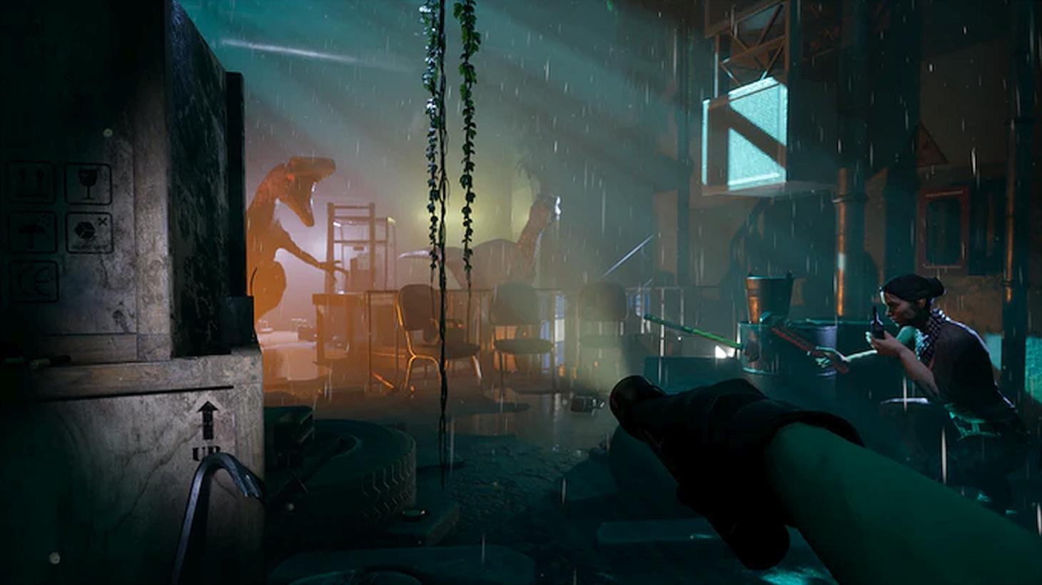 Jaw Drop Games' Co-Op Survival Horror Dinosaur Game Deathground Kickstarter Ends Next Week