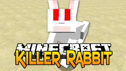 Minecraft Mobs Explored: The Killer Bunny, Formally Known As The Killer Rabbit Of Caerbannog