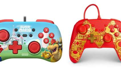 Two Official 35th Anniversary Mario-Themed Nintendo Switch Controllers Available For Preorder