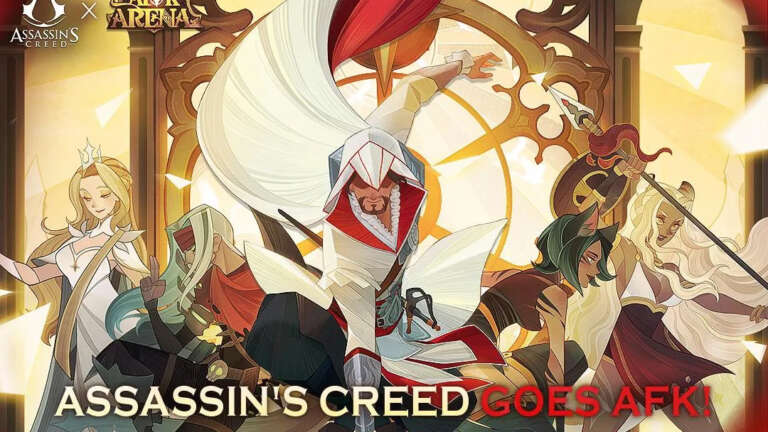 AFK Arena Is Proud To Introduce Ezio Into Its Idle Fighting Ranks, Prepare For An Assassin To Destroy The Darkness
