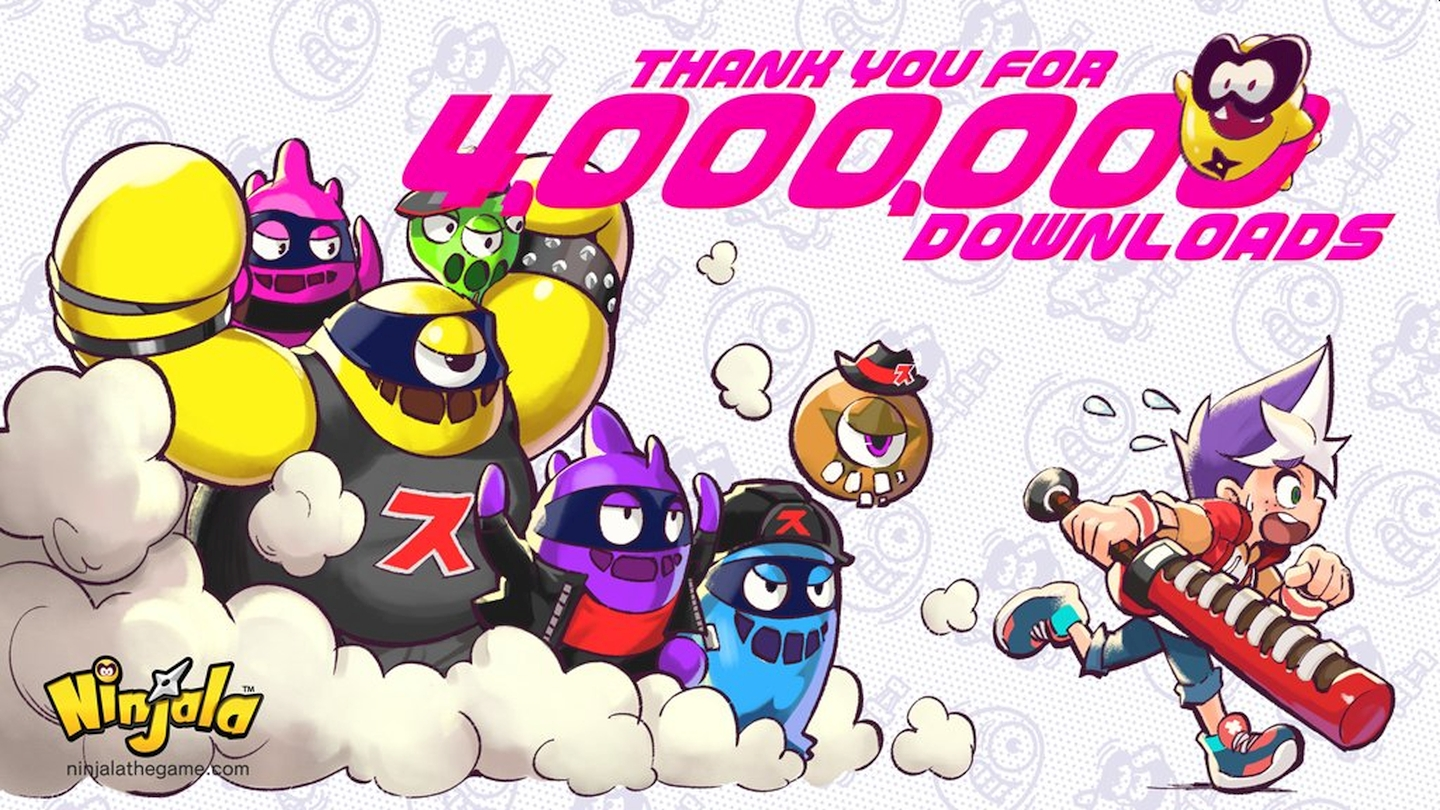 Ninjala Celebrates 4 Million Downloads With Free Jala And Wraps Up Ippon Matsuri Event Today
