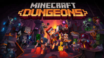 What's Coming With The New Minecraft Dungeons: Flames Of The Nether DLC?