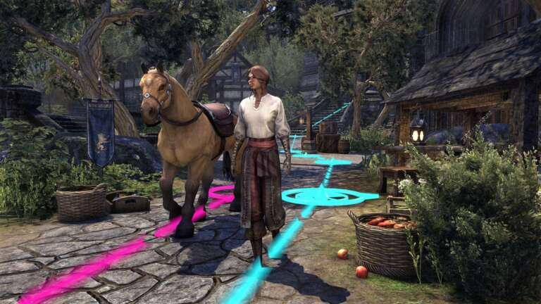 The Elder Scrolls Online Adds Character Pathing To Make Players Feel At Home