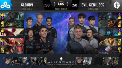 LCS - Cloud9's Hopes Are Still Alive In The 2020 Summer Split As They 3-0 The Evil Geniuses