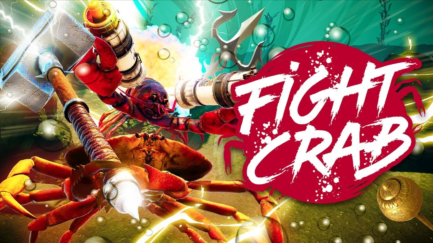 Mastiff's 3D Action-Brawler Fight Crab Launches On The Nintendo Switch This September