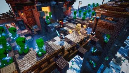 Minecraft Dungeons's Upcoming DLC, Creeping Winter DLC, Will Add New Achievements