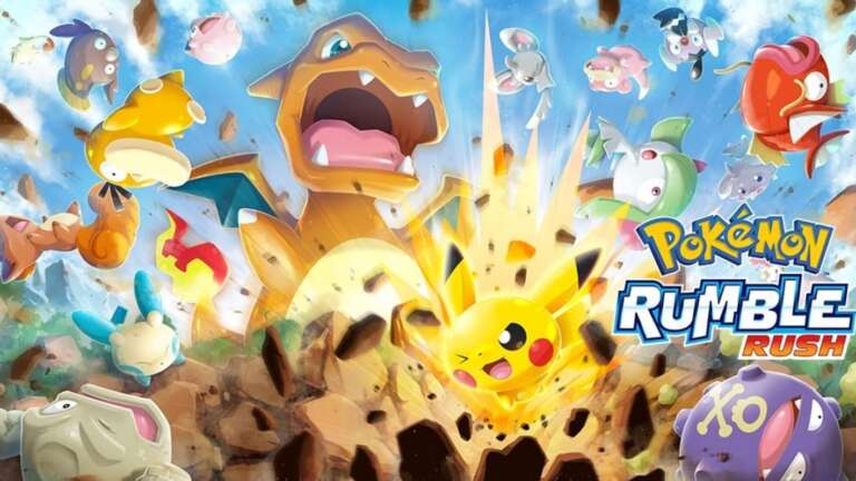 Pokémon Rumble Rush Mobile Game And Service Ends