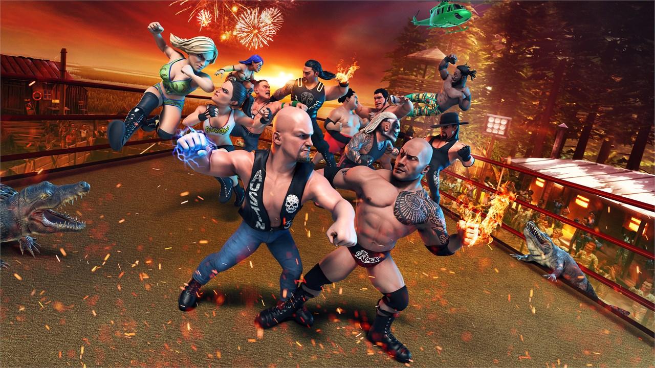 WWE 2K Battlegrounds Producer Details The Game's King Of The Battleground Mode