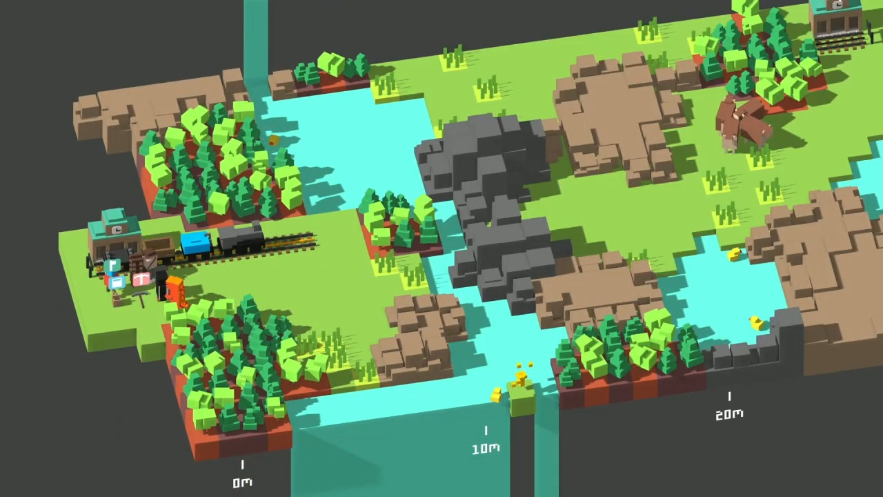 Unrailed!, The Co-Op Railroad Roguelike, Leaves Its Early Access Build Today