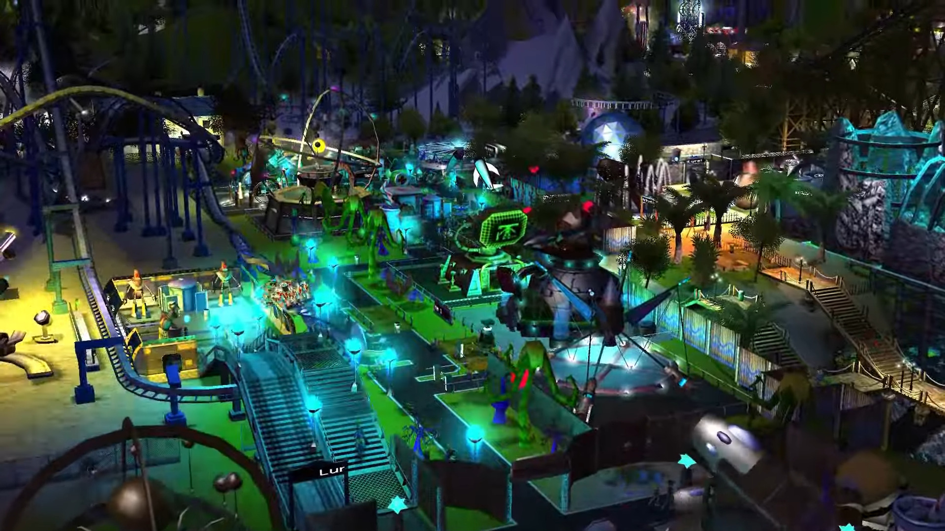 Theme Park Legend Roller Coaster Tycoon Is Coming Back To Steam On September 24