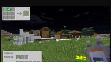Minecraft Mods Mined: Scannable, A Device That Tells Players Were Ores Are! Making Mining Easier!