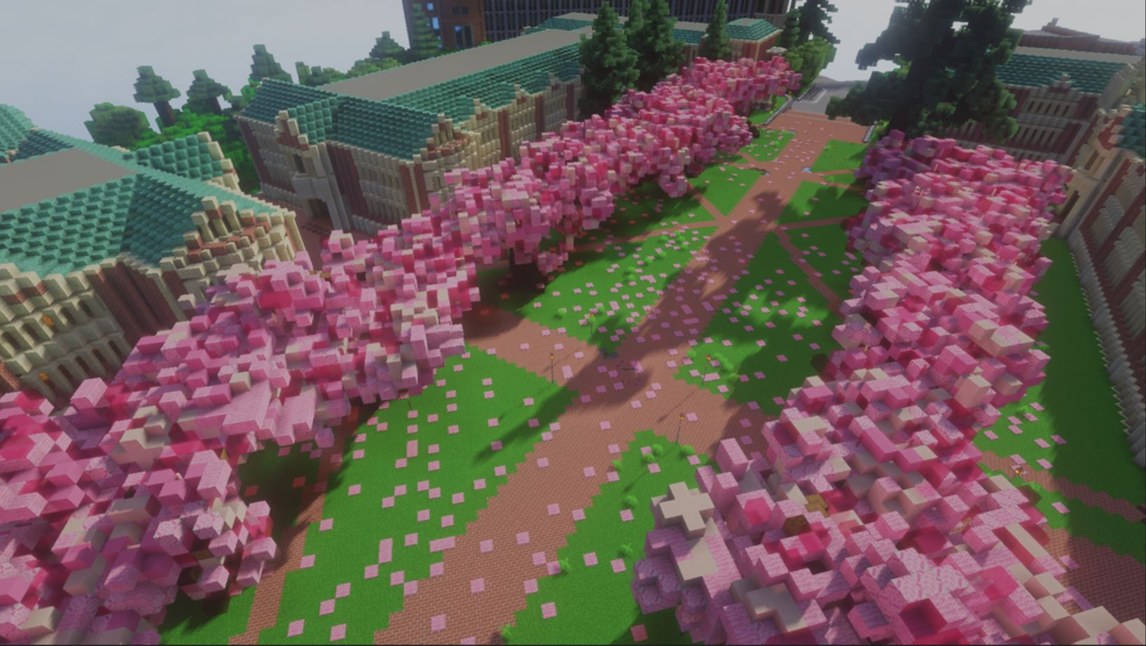 UW Students ReCreate Their College Campus In Minecraft: The Detail Is Fantastic And Worth A Look!