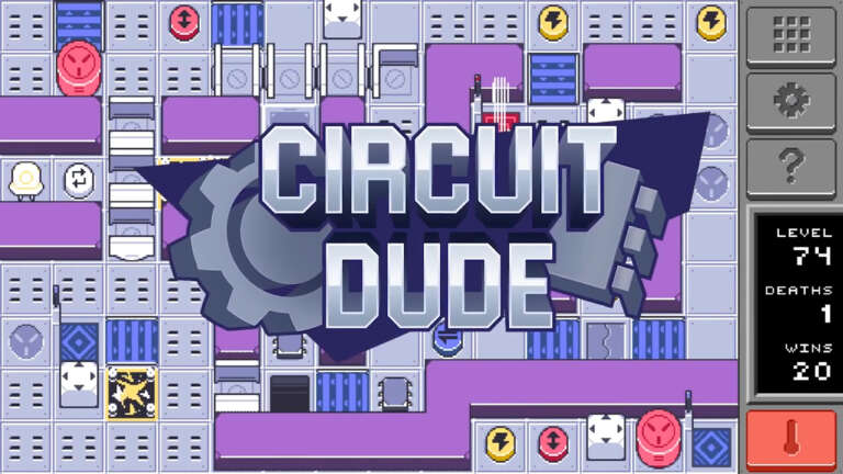 What Is Circuit Dude? The Top Down Tile Puzzler Out On The Nintendo Switch Today