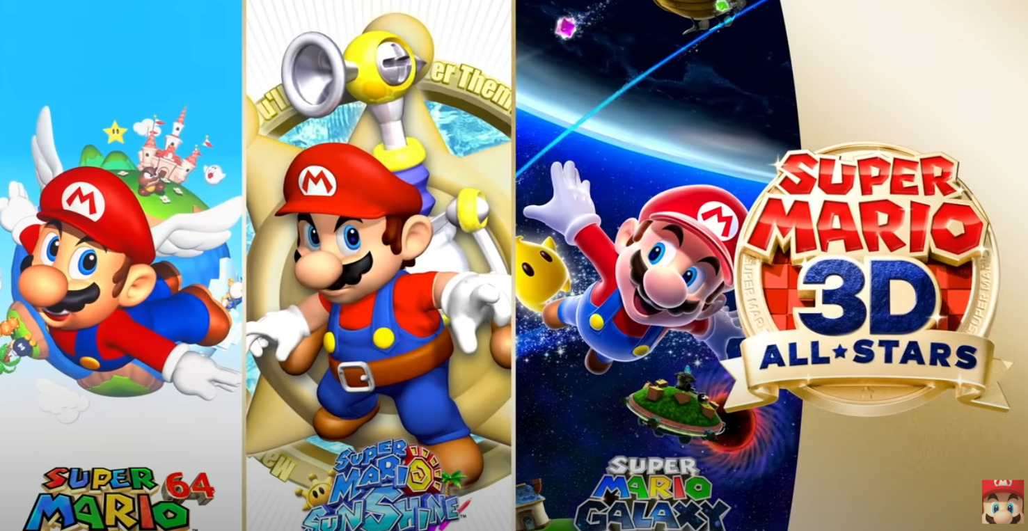 Super Mario 3D All-Stars Will Collect Previous 3D Mario Adventures For The Nintendo Switch