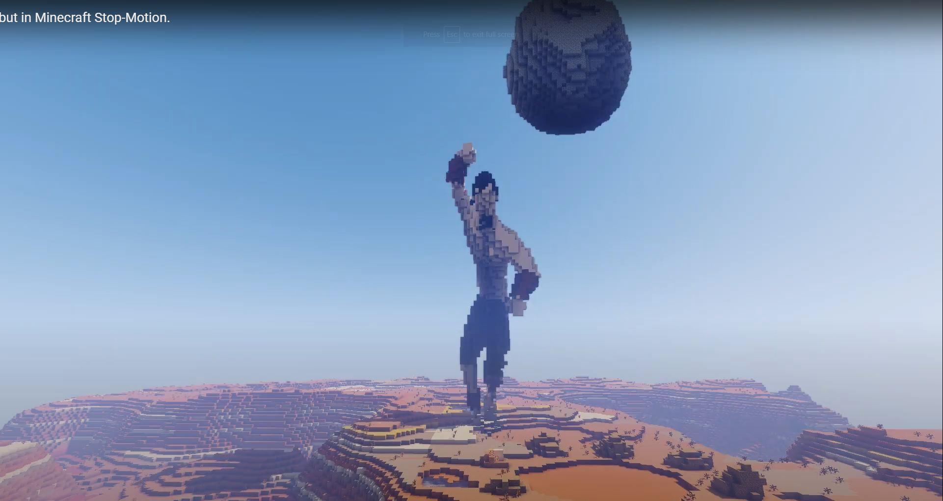 Minecraft YouTuber WeAreSteve Recreated Avatar The Last Airbender's Intro In Minecraft