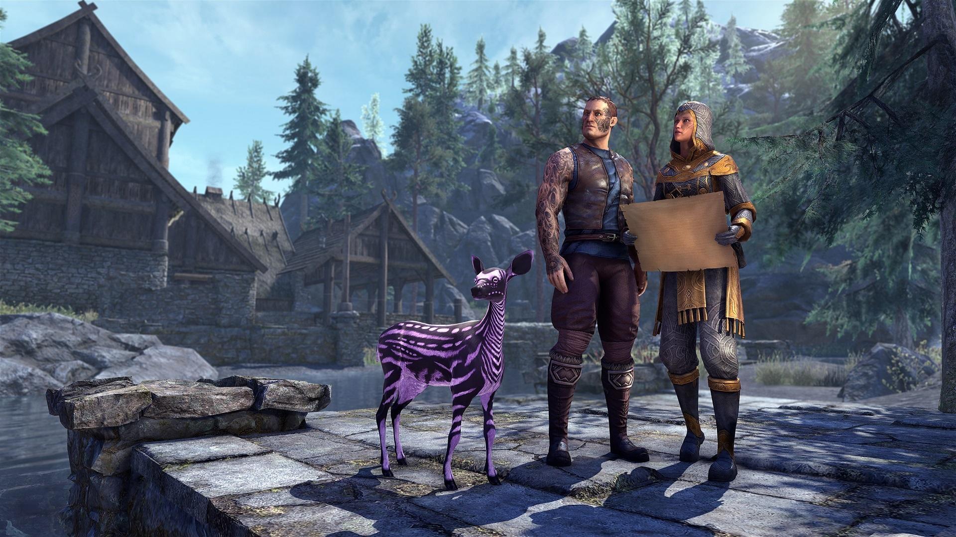 The Elder Scrolls Online Announces Months Of Events In Preparation Of Tamriel Together Celebration