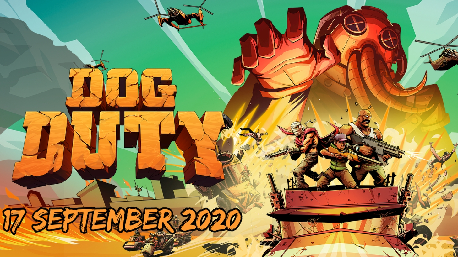 Classic 80's and 90's Real Time Tactics Inspired Dog Duty Launches On PC And Consoles On September 17