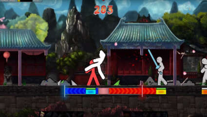 The Fast-Paced Brawler One Finger Death Punch 2 Is Now Available For The PS4