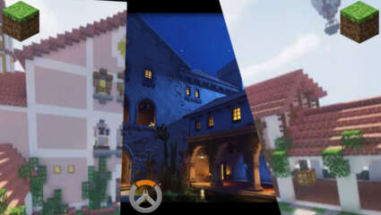 Overwatch Player, stefayylmao, Has Recreated Dorado In Minecraft And Shown What This Map Looks Like During The Day!