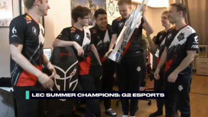 LEC - G2 Claims Eighth Title After A Clean Sweep Against Fnatic In The 2020 Summer Split
