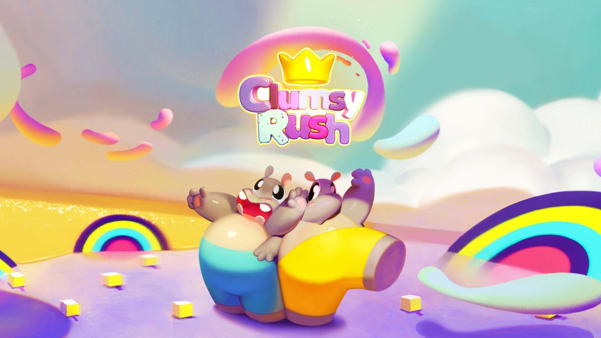 Clumsy Rush Is Bringing Candy Filled Competitions To Xbox One Audiences