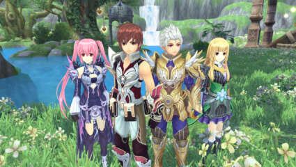 Aura Kingdom Has Just Released Two New Content Patches To Its anime MMORPG Experience