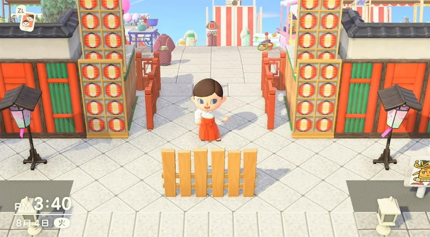 Kanda Shrine Japanese Shrine Recreated In Animal Crossing: New Horizons