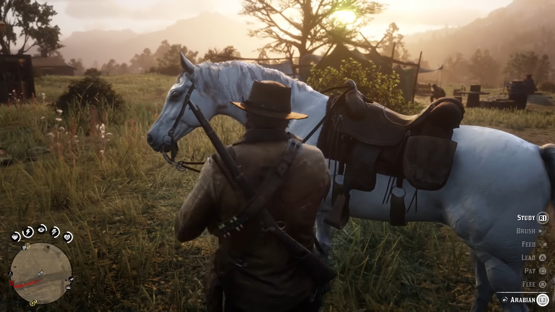Red Dead Redemption 2 How To Find And Capture The Legendary White Arabian Race Horse Happy Gamer