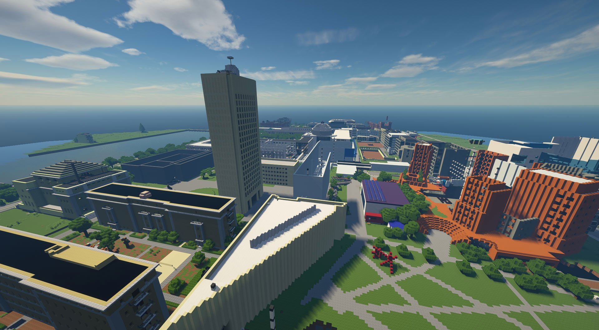 MIT Undergrads Recreate The Campus On Minecraft: Creating The Minecraft Institute of Technology