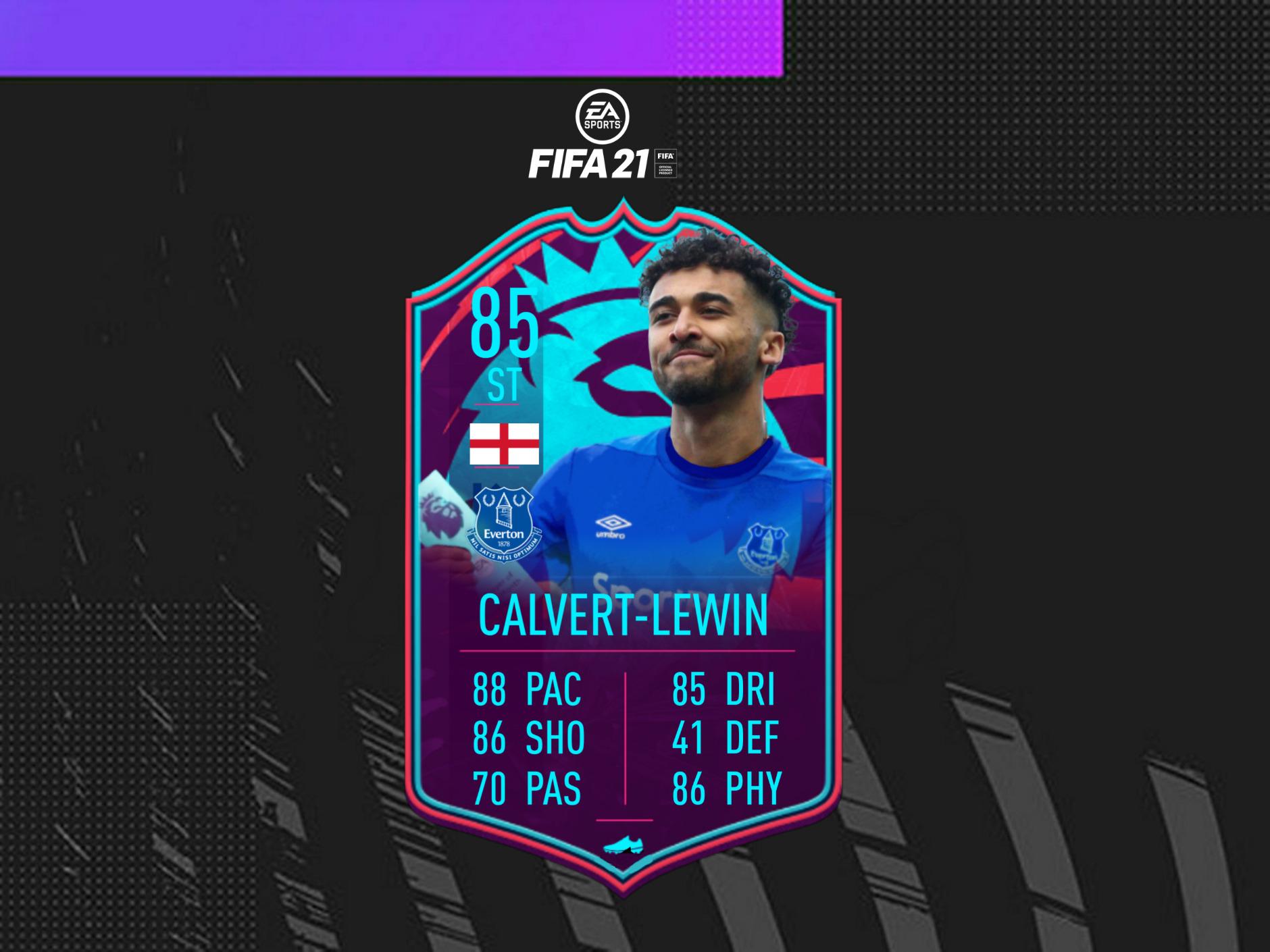 Should You Do The Calvert-Lewin POTM SBC In FIFA 21? Premier League Striker Is The First Big SBC In FUT