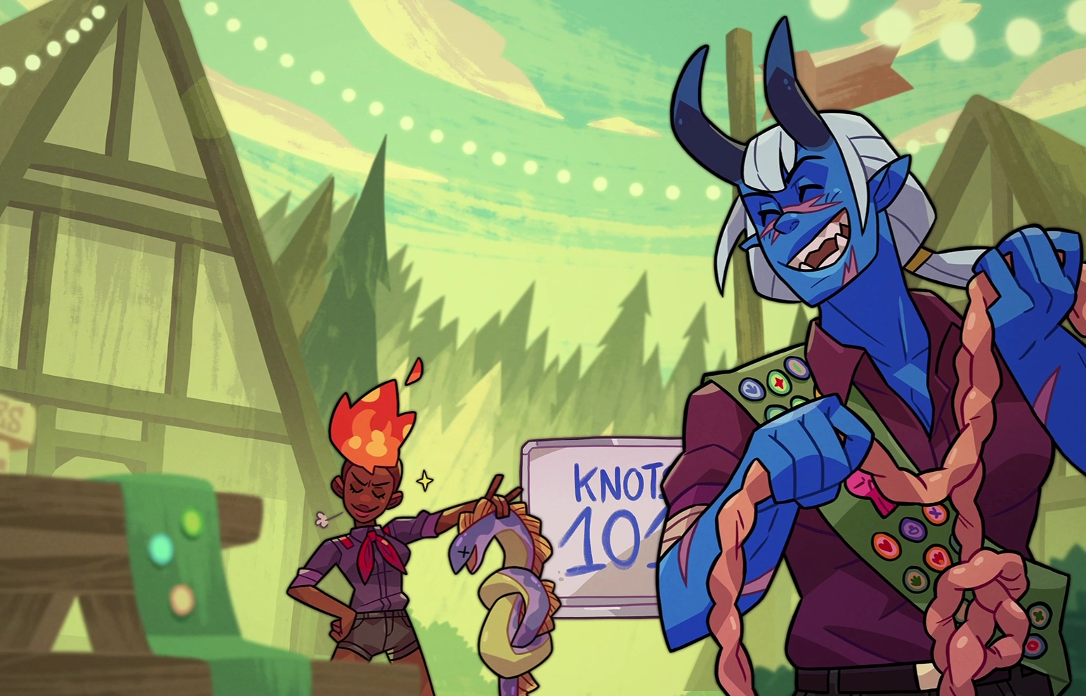 Multiplayer Dating Sim Monster Prom 2: Monster Camp Now Available On Steam