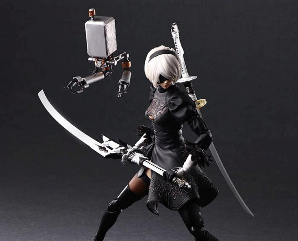 Play Arts Kai Reveals A New Highly Detailed Figure Of NieR: Automata's 2B