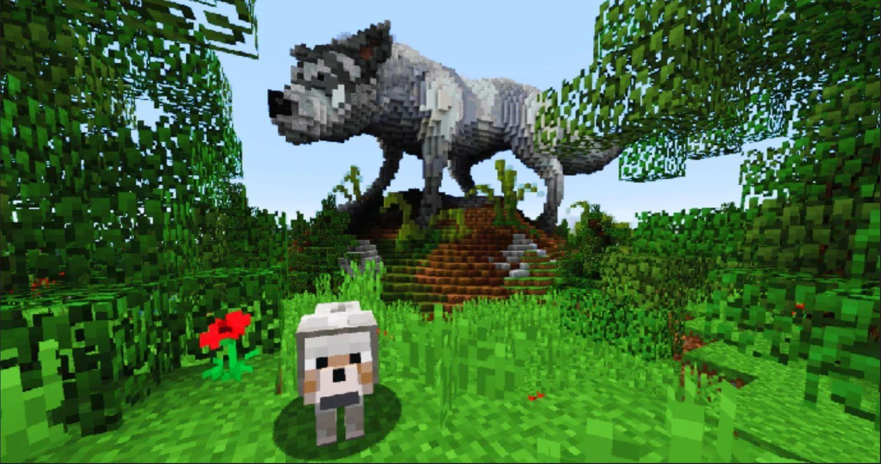 Minecraft Mobs Explored: Wolf, A Man's Best Friend Or A Man's Worst Enemy!